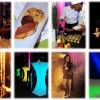 Mottoparty - Balck and colorfull